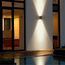 LED Directional Wall Light-3580/3591 (Brze/1 Light)-OPEN BOX