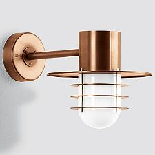 Boom LED Copper Directional Wall Light