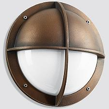 Boom LED Bronze Shielded Wall Light - 31182/31183