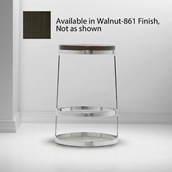 Aro Counter Stool by BernhardtDesign(Walnut)-OPEN BOX RETURN