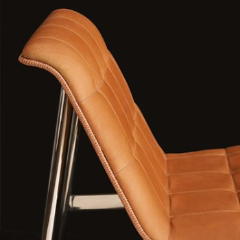 Shown in Rogue Leather: Chamois color, Detail view