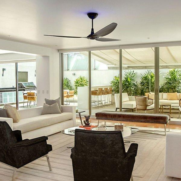 52-Inch Haiku Monochrome Indoor Ceiling Fan