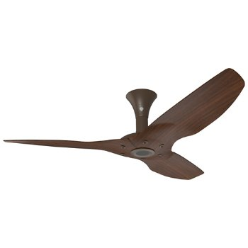 Shown in Oil Rubbed Bronze with Cocoa Woodgrain finish, 52 inch