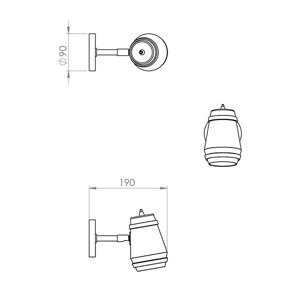Cask Wall Sconce