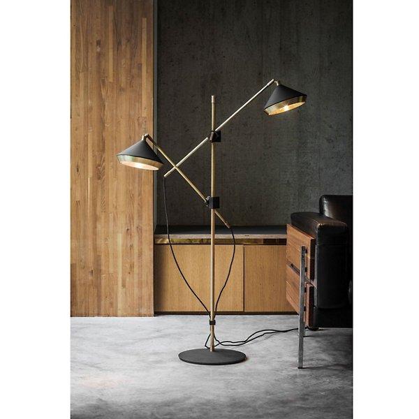 Shear Floor Lamp