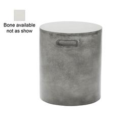 Hideout Side Table/Propane Tank Cover (Bone) - OPEN BOX