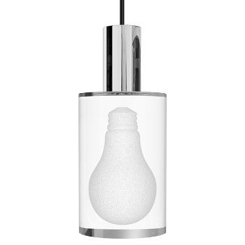 Shown in Polished Chrome finish, A-Lamp