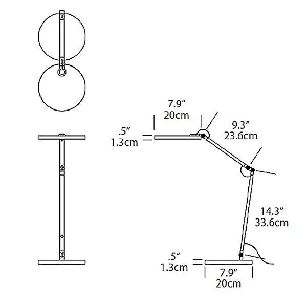 Flexi LED Task Lamp