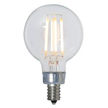 4 5w 120v G16 1 2 E12 Led Clear Bulb