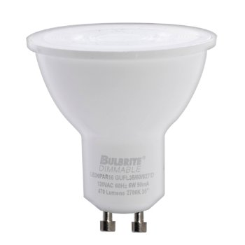 6W 120V MR16 GU10 NFL LED Bulb