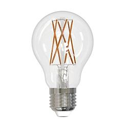 8W 120V A19 LED Filament Clear Bulb