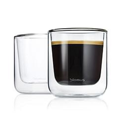 NERO Set of 2 Insulated Coffee Glasses