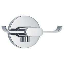 AREO Twin Wall Hook by Blomus (Polished) - OPEN BOX RETURN