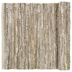 CARPO Woven Leather Rug