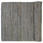 CARPO Woven Leather Rug (Drizzle/6Ft.7In.x9Ft.10In)-OPEN BOX
