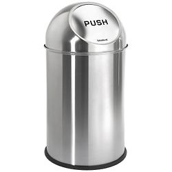 INTRO Pushman Trash Can (Stainless Steel) - OPEN BOX RETURN