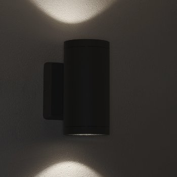 Shown in Anthracite finish, lit
