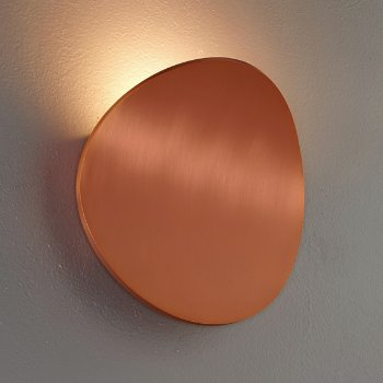 Shown in Brushed Copper finish
