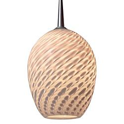 Bolero Low Voltage Pendant (Dove/Matte Chrome) - OPEN BOX
