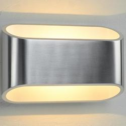 Eclipse I Wall Sconce (Brushed Chrome/Dimmable) - OPEN BOX