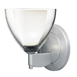 Rainbow II Round Sconce (Clear/Matte Chrome/LED) - OPEN BOX