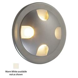Ledra Quattro LED Recessed Wall Light (Warm White/Matte Chrome/J-Box) - OPEN BOX RETURN
