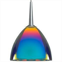 Rainbow II Pendant (Sunset/Matte Chrome) - OPEN BOX RETURN
