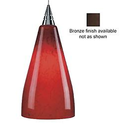 Zara Pendant by Bruck Lighting(Red/Bronze) - OPEN BOX RETURN