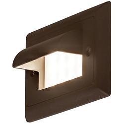 Ledra Horizontal Cove Step light (Amber/Bronze) - OPEN BOX