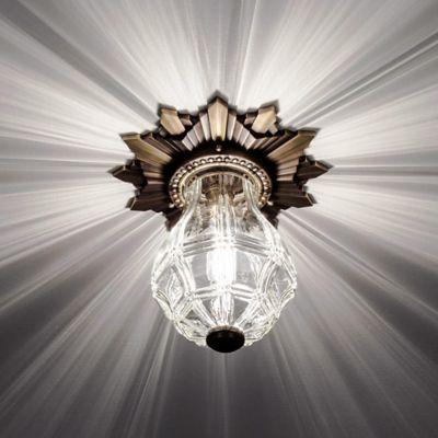 Opera House Flushmount & Glass Pendant Lights | Blown Glass u0026 Art Glass Lighting at Lumens.com azcodes.com