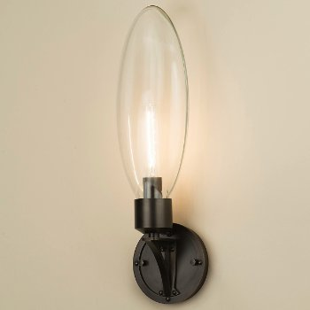 Shown in Antiqued Boyd Brass finish, Clear Glass