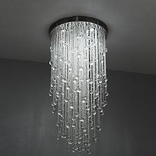 Cascade Round Suspension Light