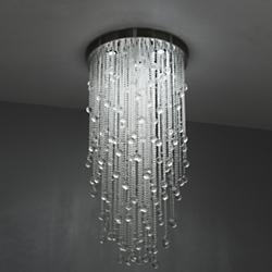 Crystal Ceiling Lights Crystal Pendants Chandeliers At Lumenscom - Long chandelier crystals