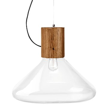 Shown in Transparent with Oak Wood