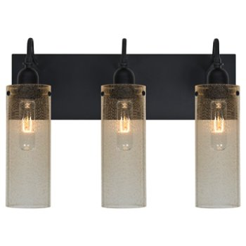 Shown lit in Gold Bubble shade, 3 Light