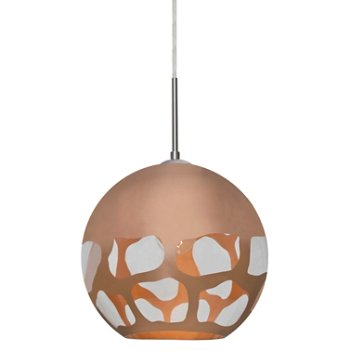 Shown in Copper with Satin Nickel finish