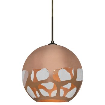 Shown in Copper with Bronze finish