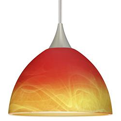 Brella Mini Pendant (Solare/Satin Nickel) - OPEN BOX RETURN