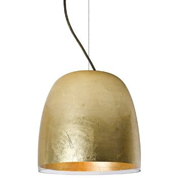 Shown in Gold foil finish, bronze cable