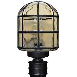 Costaluz 3417 Series Outdoor Post Light (Black) - OPEN BOX