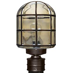 Costaluz 3417 Series Outdoor Post Light (Bronze) - OPEN BOX
