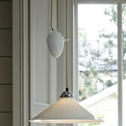 Cobb Rise & Fall Pendant (White) - OPEN BOX RETURN