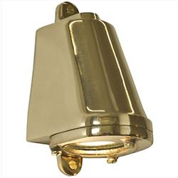 Mast Outdoor Wall Sconce (Polished Bronze) - OPEN BOX RETURN
