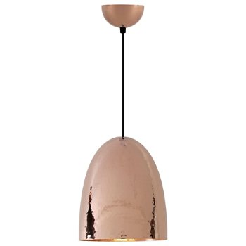 Shown in Hammered Copper finish, Large size