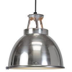 Titan Size 1 Pendant Light(Aluminum w/Etched Glass)-OPEN BOX