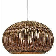 Garota Outdoor Plug-In LED Pendant Light