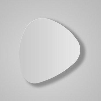 Shown in White Satin Lacquer finish, Medium size