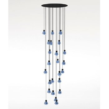 Shown in Blue glass finish