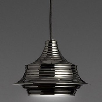 Shown in Black Chrome with Black Fabric Cable finish