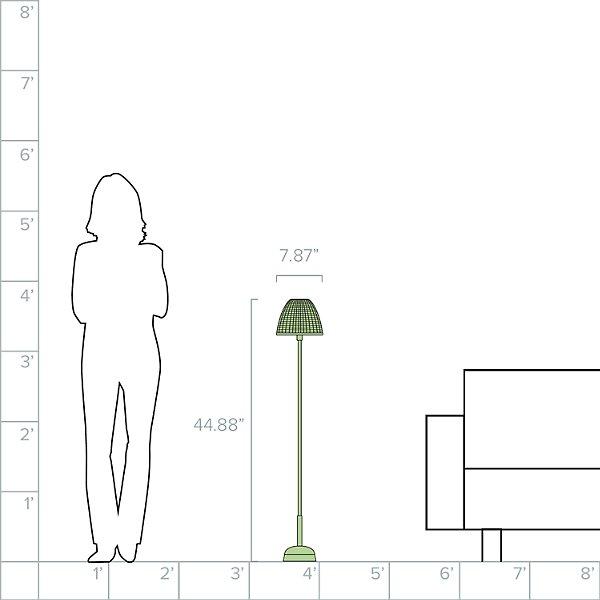 Atticus P/114 Outdoor Floor Lamp